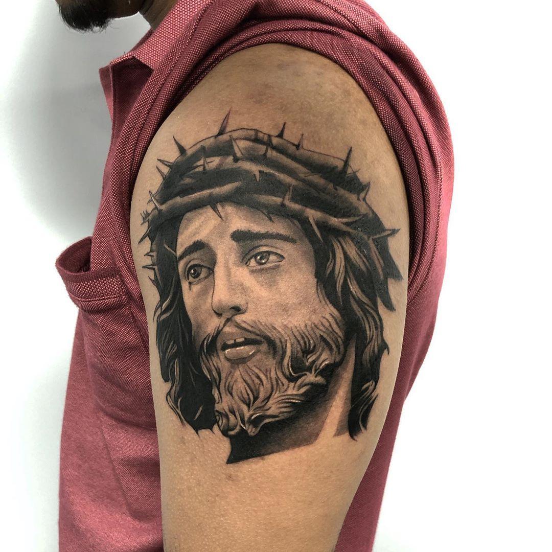 Best Jesus Realism Tattoo Toronto