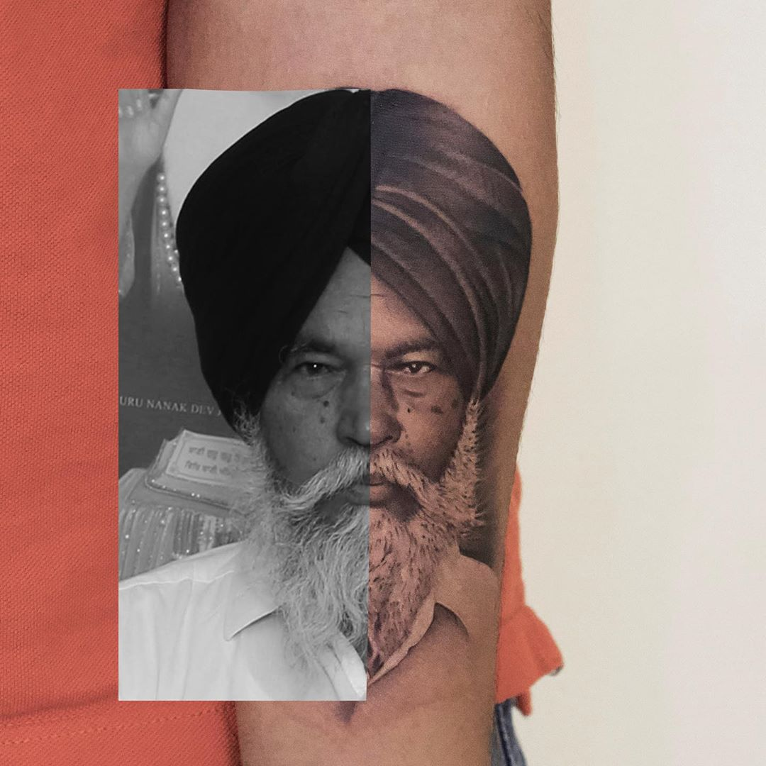 Best Portrait Realism Tattoo Toronto