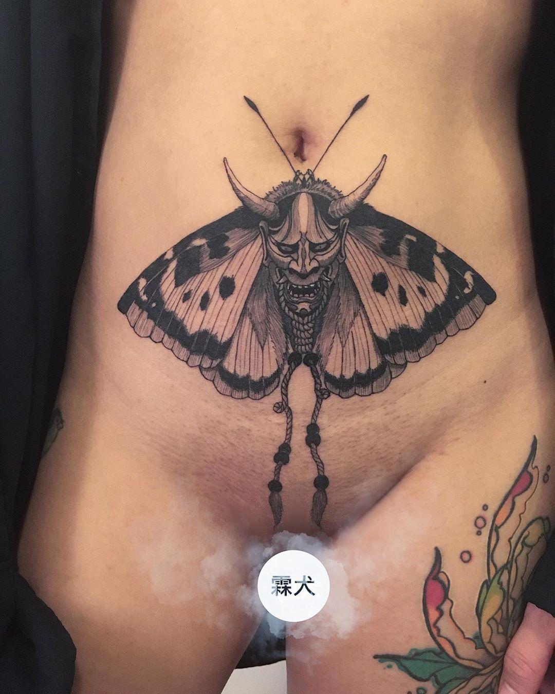 Illustrative Black and Grey Tattoo Toronto