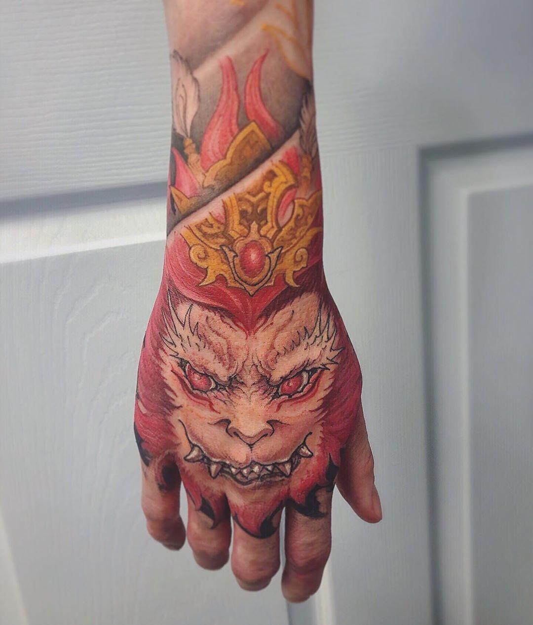 Hand Tattoo Asian Tattoo Artist