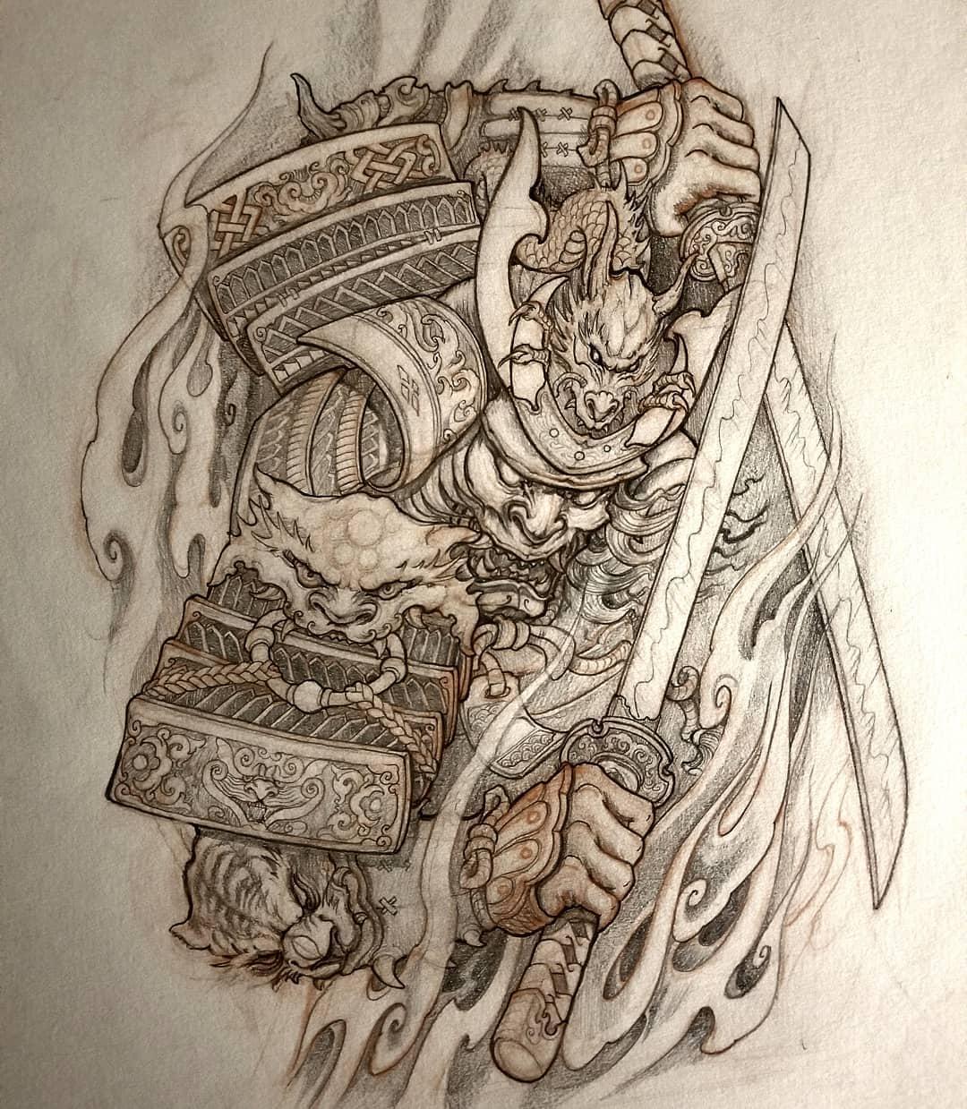 Tattoo Drawing Asian Tattoo Artist
