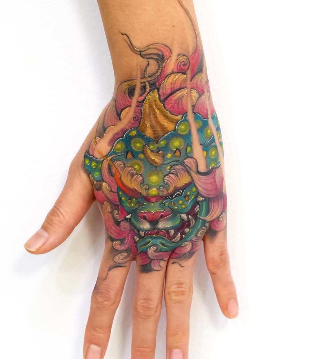 Best Asian Hand Tattoo Toronto