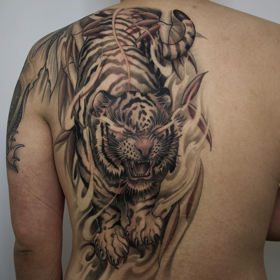Tiger Asian Tattoo Artist